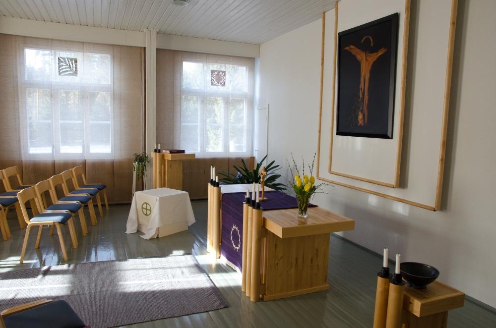 Vierailu luostarissa