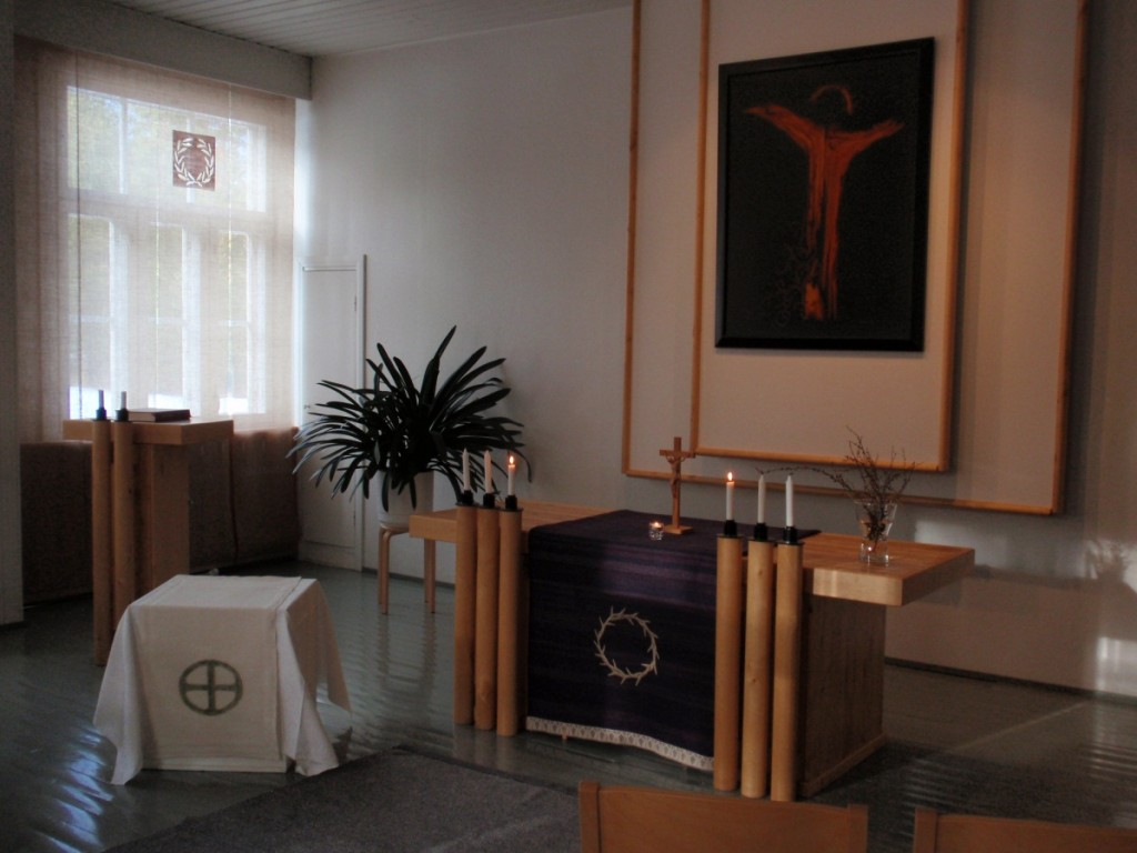 Chapel of Holy Trinity at the Enonkoski Monastery.