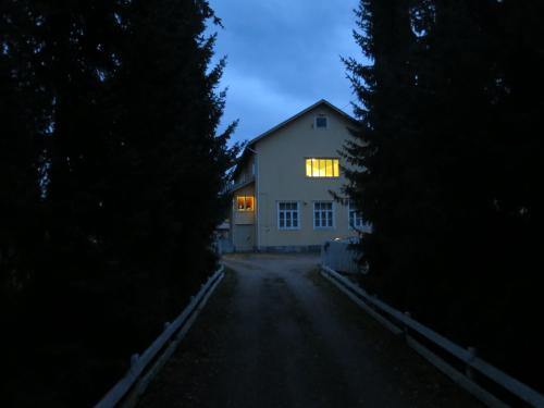 Luostariyhteisö on talvitauolla